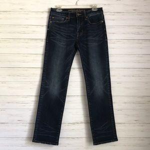 AMERICAN EAGLE jeans slim straight 28x30 NWOT